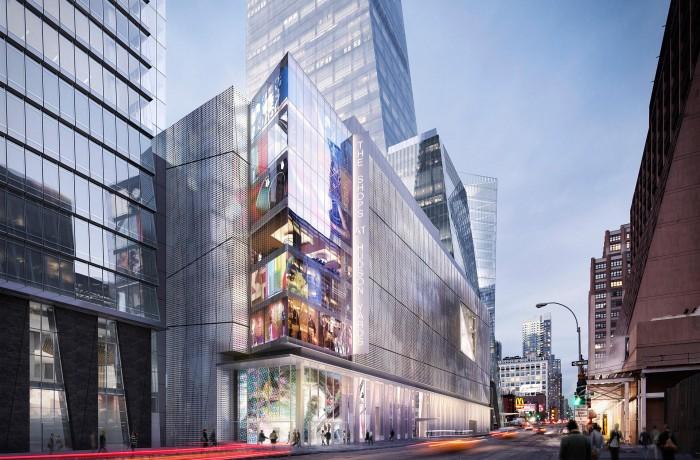 Hudson Yards Retail Podium